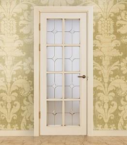 Двери шпонированные Классика «VETRO 8» от Мастер-Вуд