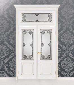 Двери шпонированные Барокко серия Флоренция от Мастер-Вуд