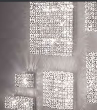 Освещение Светильник потолочный ADMIRAL PL8 CROMO от IDEAL-LUX