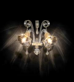 Освещение Бра CA' D'ORO AP2 от IDEAL-LUX