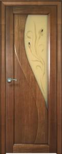 Двери шпонированные Яна итальянский орех от Milyana