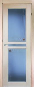Двери шпонированные Натель-1 беленый дуб от Milyana