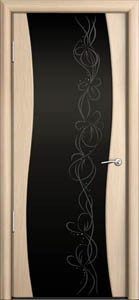 Двери шпонированные Омега беленый дуб от Milyana