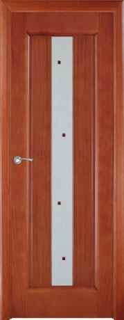 Двери шпонированные Лаура  темный анегри от Milyana