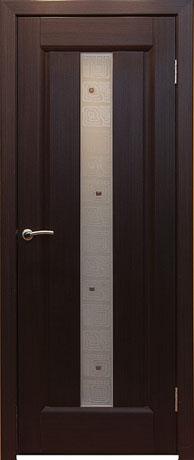 Двери шпонированные Лаура венге от Milyana