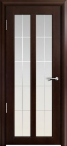 Двери шпонированные Дана темный орех от Milyana