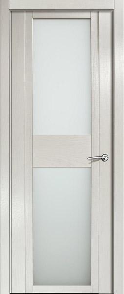 Двери шпонированные D ясень белый жемчуг от Milyana