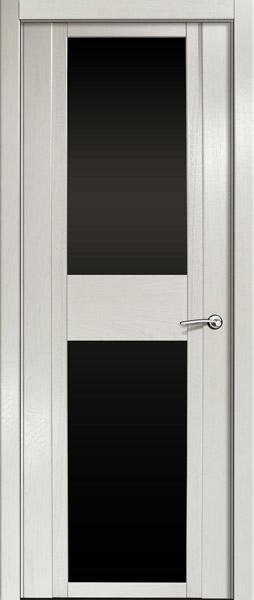 Двери шпонированные D ясень жемчуг от Milyana