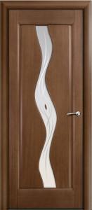Двери шпонированные Веста (Волна) палисандр от Milyana