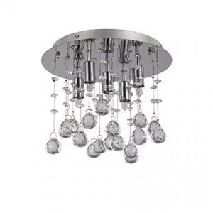 Освещение Светильник потолочный MOONLIGHT PL5 CROMO от IDEAL-LUX