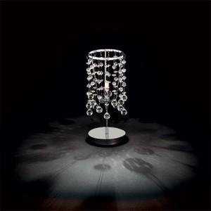 Освещение Настольная лампа MOONLIGHT TL1 CROMO от IDEAL-LUX