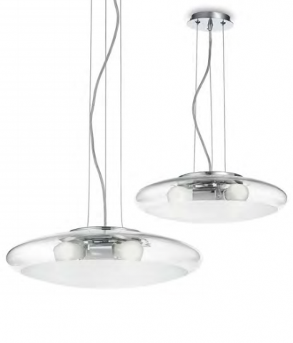 Освещение Люстра SMARTIES CLEAR SP3 D50 от IDEAL-LUX