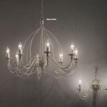 Распродажа Люстра CORTE SP12 BIANCO ANTICO, RUGGINE от IDEAL-LUX
