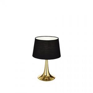 Освещение Настольная лампа LONDON TL1 SMALL OTTONE от IDEAL-LUX