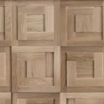 Стеновые панели 1008 ST дуб массив (квадраты модульные натур) от ESSE
