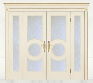 Двери шпонированные Версаль (дверной блок) от RuLes