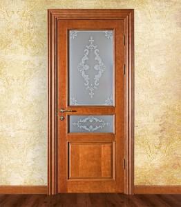 Двери шпонированные Классика серия Флоренция 6 от Мастер-Вуд