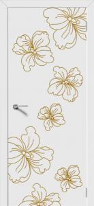Двери МДФ Орхидея от DEMFA