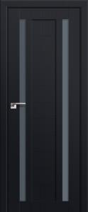 Двери экошпон 15U ЧЕРНЫЙ МАТОВЫЙ от Топ-Комплект