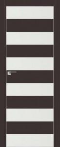 Двери экошпон 8E ТЕМНО-КОРИЧНЕВЫЙ от Топ-Комплект