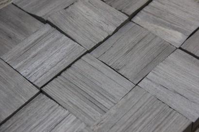 Стеновые панели 1019-ST колотые из сосны квадратики (массив сосны) от ESSE