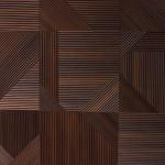 Стеновые панели Фрезерованные панели квадраты 1031 (фанера отдельно 10 мм) от ESSE