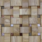 Стеновые панели 1024-ST дуб инкрустация(без мозаики) от ESSE
