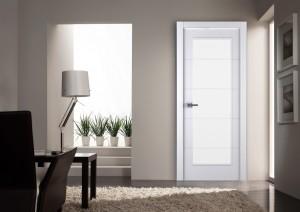 Двери шпонированные Arvika 202 (остекленное) от Belwooddoors
