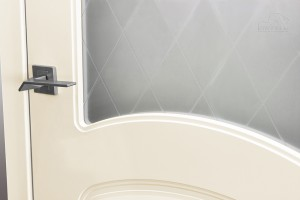 Двери шпонированные Элина (остекленное) от Belwooddoors