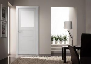 Двери шпонированные Инари (остекленное) от Belwooddoors