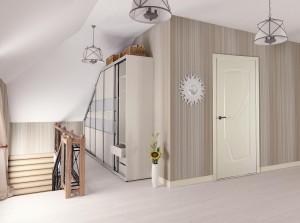 Двери шпонированные Ирида (остекленное) от Belwooddoors