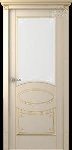 Двери шпонированные Лотбери (остекленное) от Belwooddoors