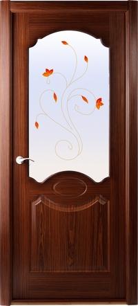 Двери шпонированные Милан (остекленное) от Belwooddoors