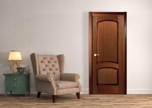 Двери шпонированные Наполеон (полотно глухое) от Belwooddoors