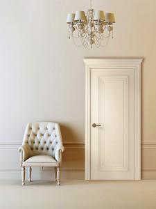 Двери шпонированные Палаццо 1 (полотно глухое) от Belwooddoors