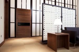 Двери шпонированные Palladio-Titul (полотно глухое) от Belwooddoors