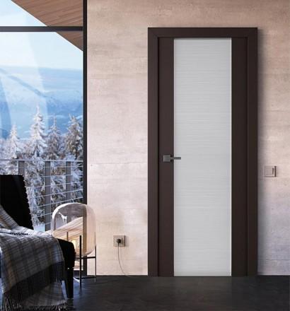 Двери шпонированные Saana (остекленное) от Belwooddoors