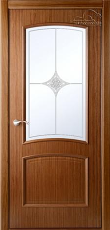Двери шпонированные Сорренто (остекленное) от Belwooddoors