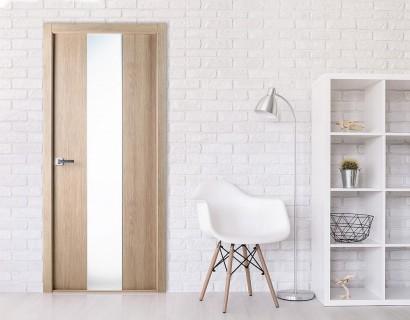 Двери экошпон Юнита (остекленное) от Belwooddoors